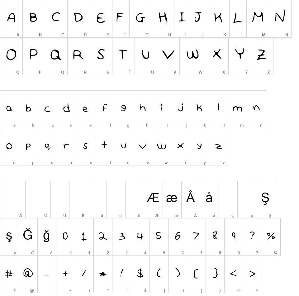100 Love free font