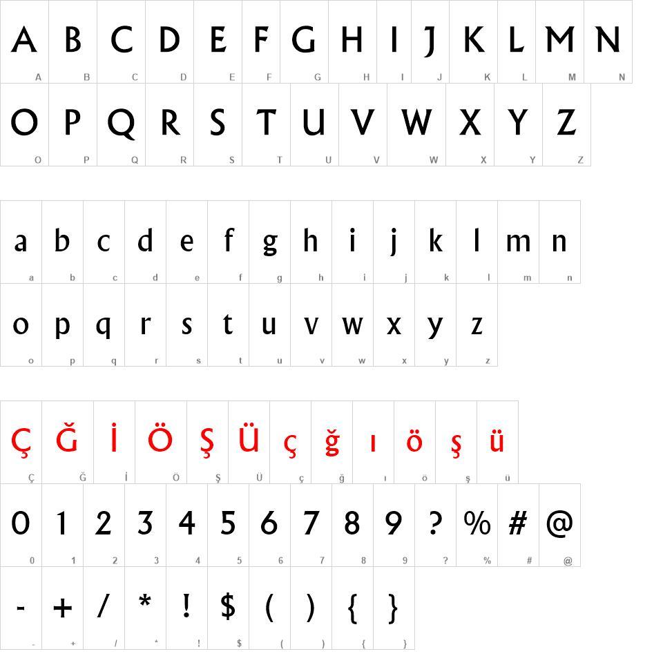 Albertus Medium free font