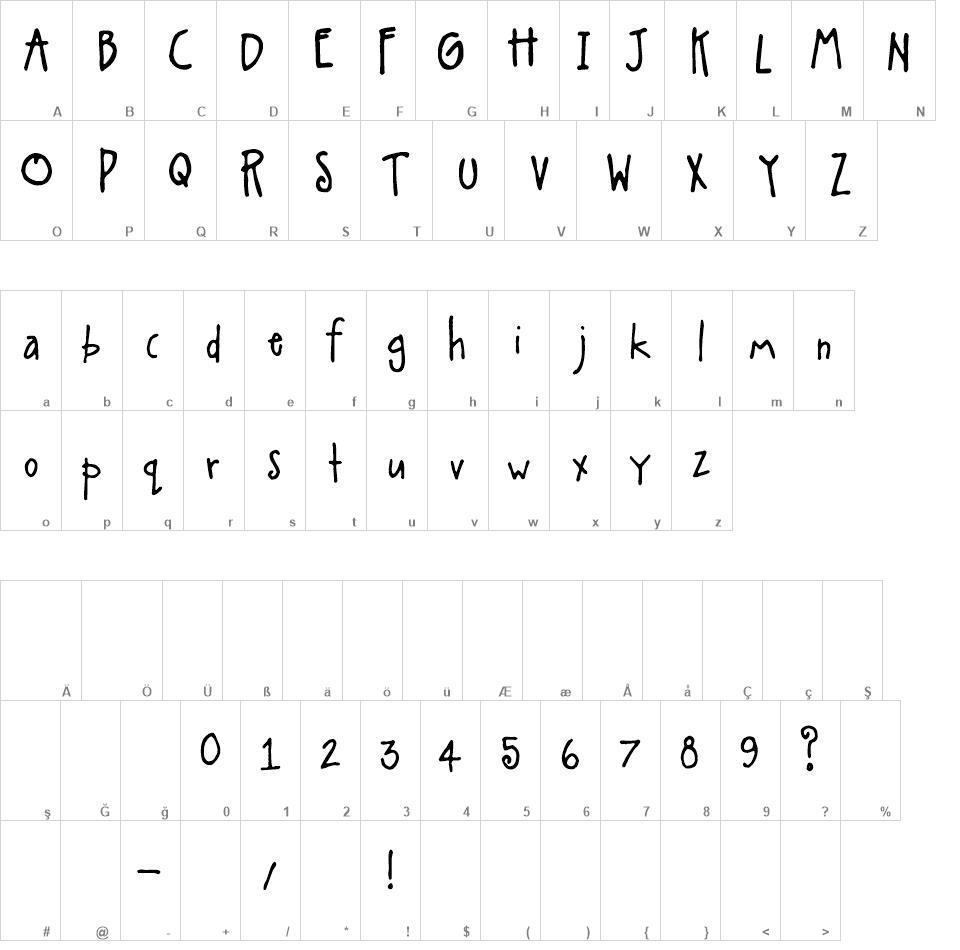 A Little Pot Free Font