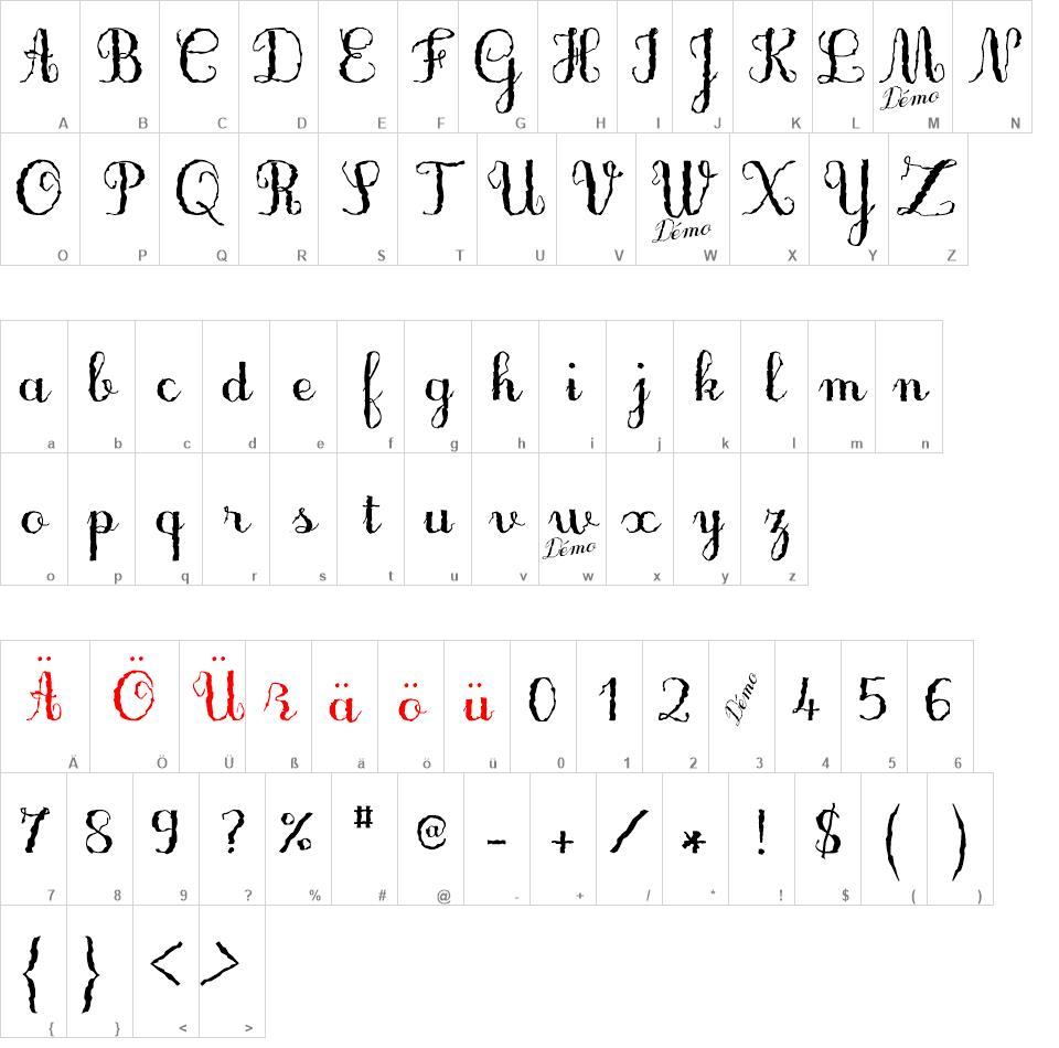 Only One Dollar Demo Font Family free font