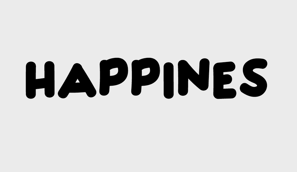 Happiness free font