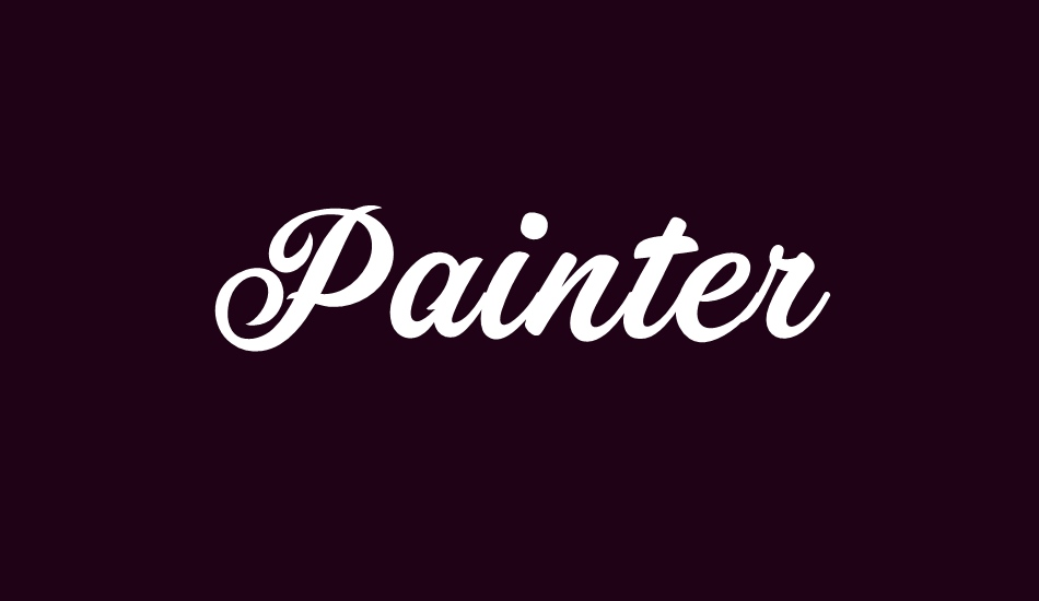 Painter PERSONAL USE ONLY font big