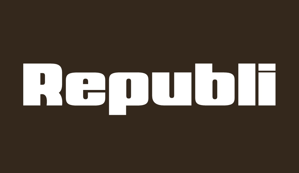 republica-minor font big