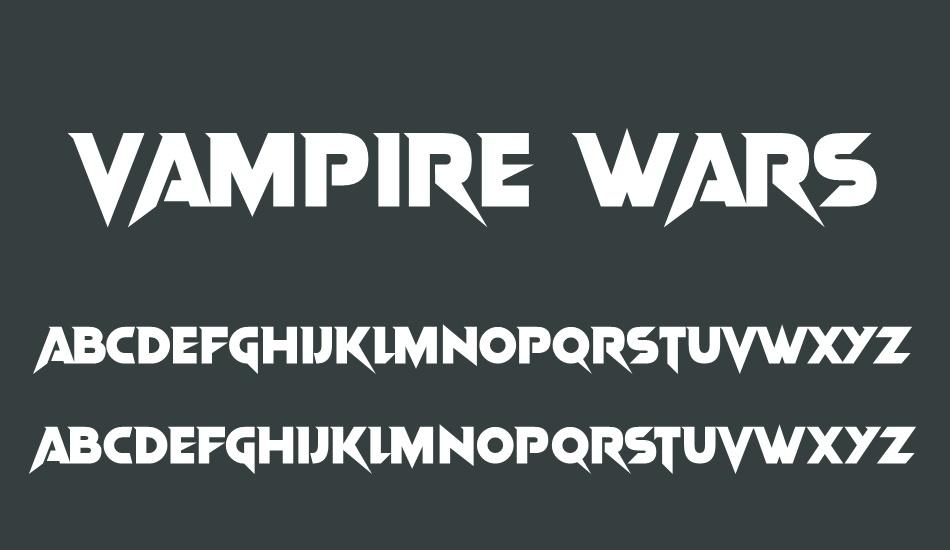 Font vampire â